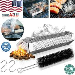 """12"""" Stainless Steel Outdoor Wood Pellet Grill Smoker Filter"""