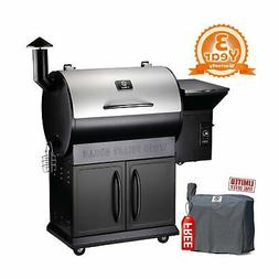 Z GRILLS New ZPG-700E 2019 Upgrade Model Wood Pellet Grill &