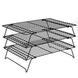 Daixers 3-Tier Stackable Cooling Rack,Baking Racks 13.5x 9.5