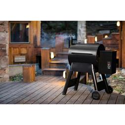 418SQ in Wood Pellet BBQ Grill Smoker Barbecue Combo Automat