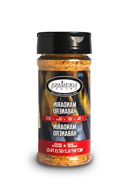 Louisiana Grills 50505 Mandarin Habanero Rub