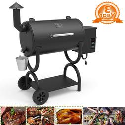 550sq in pellet smoker bbq grill