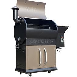 Tenive 679sq 22K BTU Wood Pellet Grill & Smoker , 2 Levels C