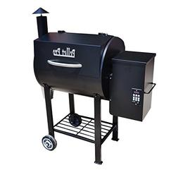 PELLET PRO 680 Stick Burning Wood Fired Pellet Grill w/ Free