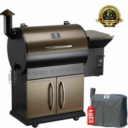 Z GRILLS 2021 Upgrade Wood Pellet Grill 8 in 1 BBQ Grill Smo