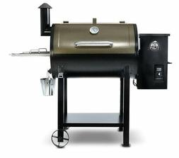 Pit Boss 820 Deluxe Wood Pellet Grill with Cover and Spice S