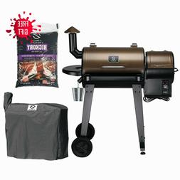 ZGRILLS 450SQIN Pellet Grill and Smoker& BBQ with Digital Co
