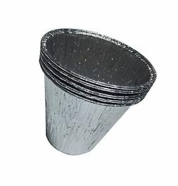 (5-Pack) Aluminum Disposable Bucket Liner,for Pit Boss P
