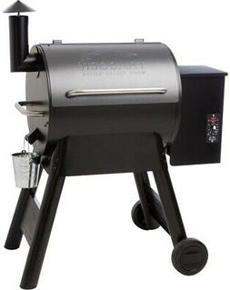 Barbecue Wood Pellet Fire Grilling Auto-Start Smoker Spice R