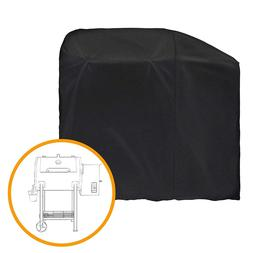 iCOVER Barbeque BBQ Grill Cover Black For Pit Boss 700FB Woo