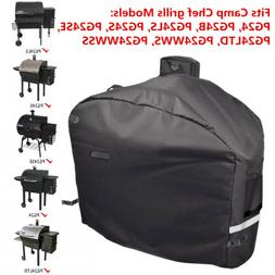 "BBQ Grill Cover for Camp Chef Pellet Grills DLX 24"", SmokePr"