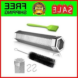 BBQ Pellet Smoker Tube 12 Stainless Steel for Cold or Hot Sm