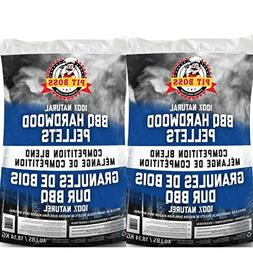 Pit Boss BBQ Wood Pellets, 40 lb., Competition Blend