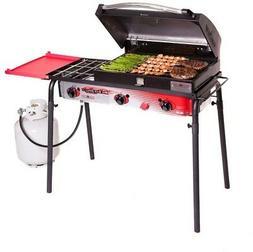 Camp Chef Big Gas 3 Burner Grill Black/red