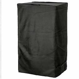 """Black 33"""" Electric Smoker Cover UV Protected Waterproof"""