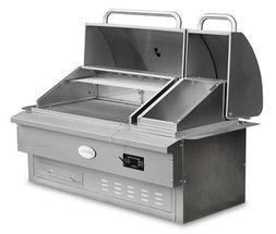 Louisiana Grills Built In Wood Pellet Grill and Smoker, Esta