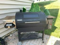"""Cabelas 36"""" Pellet Grill with accessories"""