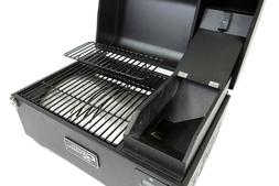 COUNTRY SMOKER, THE TRAVELER-PORTABLE WOOD PELLET GRILL