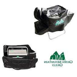 Green Mountain Grill Davy Crockett Cover & Black Tote Combo
