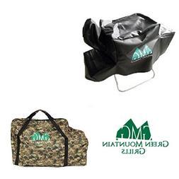Green Mountain Grill Davy Crockett Cover & Camo Tote Combo G