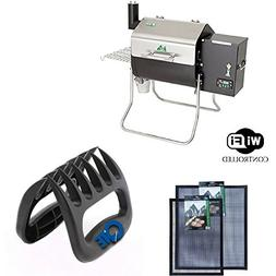 Davy Crockett GMG Pellet Grill With BBQ Claws & Grilling Mat