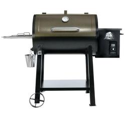 NEW PIT BOSS DELUXE 440D PATIO WOOD PELLET GRILL COPPER & BL