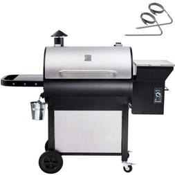 Electric Pellet Grill Outdoor Big BBQ XL Large Digital Meat