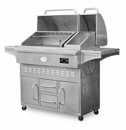 Louisiana Grills Estate 860C Cart Pellet Grill - Stainless S