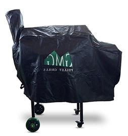 GMG Daniel Boone BBQ Grill Cover Synthetic Leather Green Mou