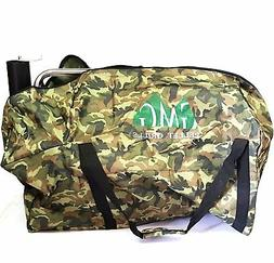 GMG Davy Crockett WIFI Wood Pellet BBQ Grill WITH Camo Tote,