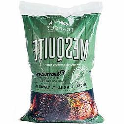 Traeger Grill Mesquite Wood Pellets, 20 Lb Bag, Outdoor Cook