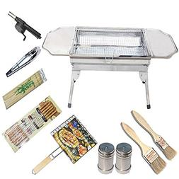 Grills Out Grills Barbecue Grill Portable Stainless Steel Pe