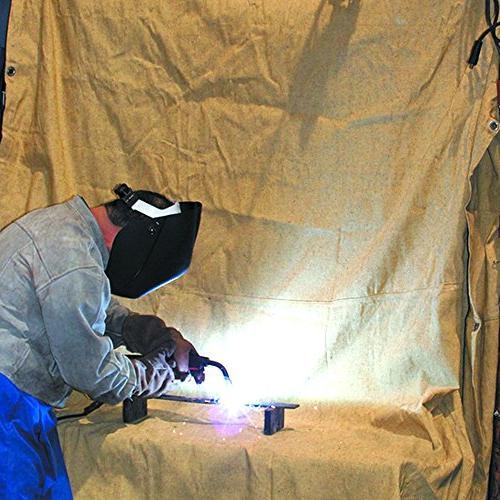 Neiko 10908A Heavy Duty Fiberglass Welding Cover with 4'
