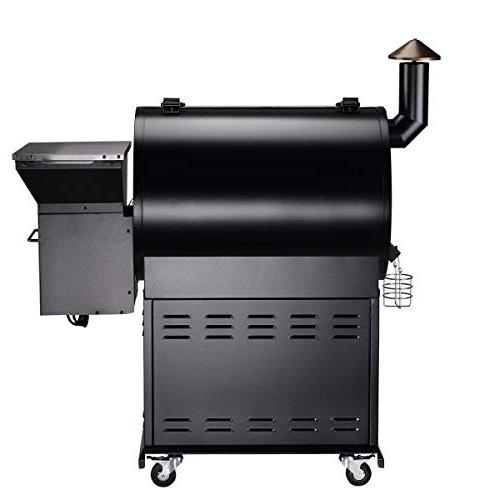 Z Wood Outdoor 8 in Smokers/Elite Pellet Grill with Storage Storage Patio, and
