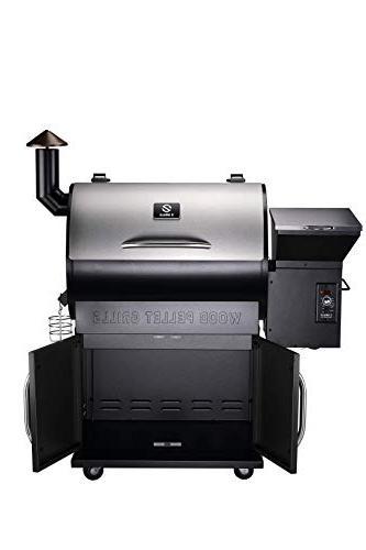 Z 2019 Pellet Grill Smoker, 8 1 700 Area