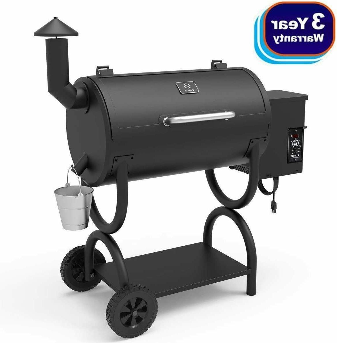 2020 newest wood pellet grill and smoker