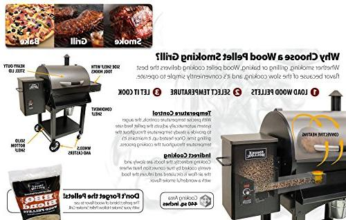 Smoke Pellet Grill, Cooking Area