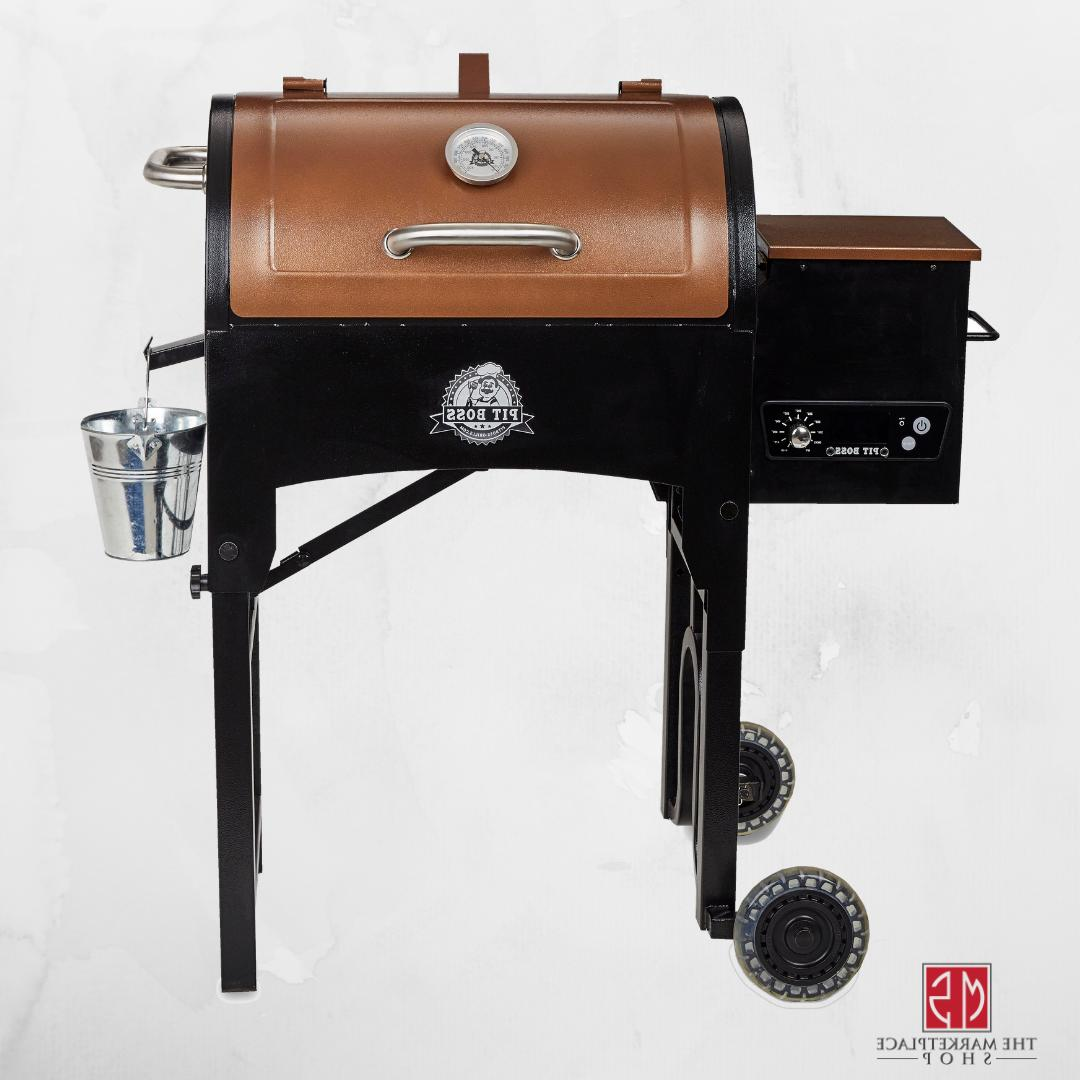 Pit Boss 340 sq. in. Portable Tailgate/Camp Pellet Grill w/