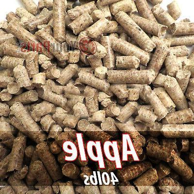 40lbs of 100 percent pure apple wood