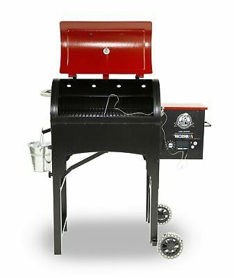 Pit 440TG Fired Pellet Grill with Flame In. Cookin...