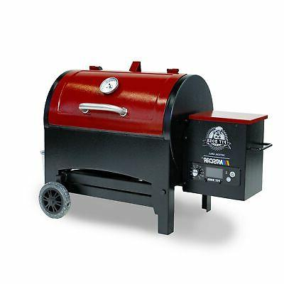 Pit 440TG Wood Fired Pellet Grill Flame In.