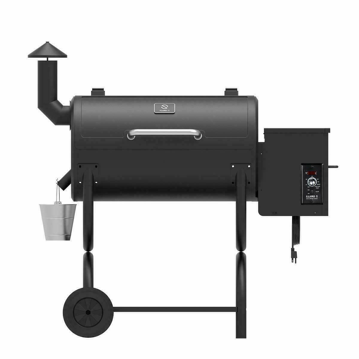Z GRILLS 2020 Wood Grill & Smoker 7 Electric Digital