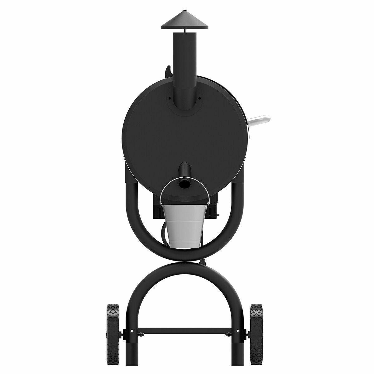 Z Wood Pellet Grill and Smoker Controls