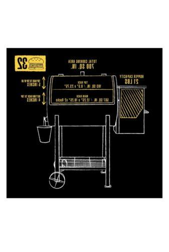 700FB Grill with Broiler, 700 In. Space