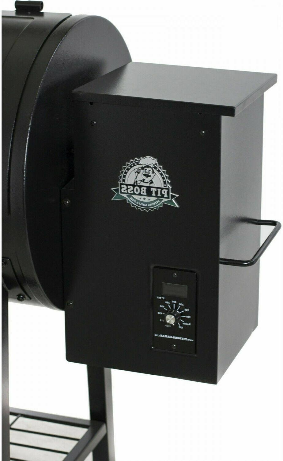 Pit Boss 700FB Wood Fired Ourdoor Patio Grill w/ Broiler Smoker