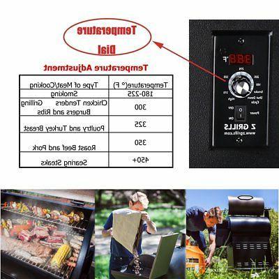 Z Grills ZPG-7002B Pellet Grill BBQ Digital Control with