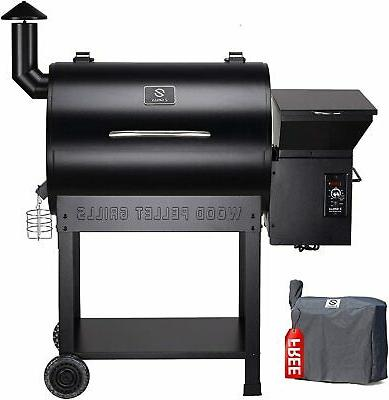 700sq in pellet grill and smoker bbq
