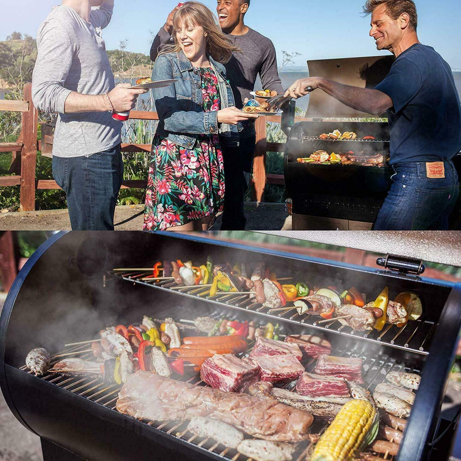 Z GRILLS Upgrade Wood Grill Smoker Cooking