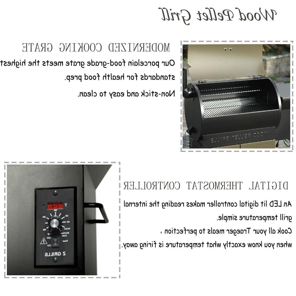 700SQ.in BBQ Grill Cover w /Digital Outdoor Cooking