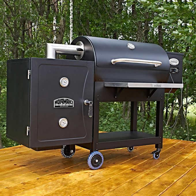 900 pellet grill with smoke box